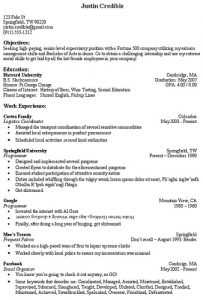 Resume Tip: Objective Section