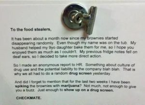 To The Food Stealers