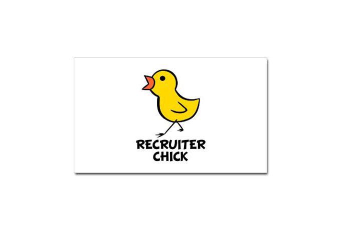 Recruiter Chick