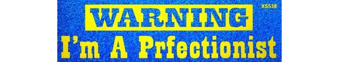 prfectionist-bumper-sticker