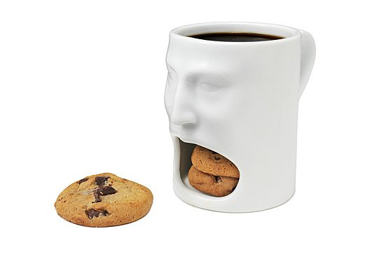 Secret Cookies Face Mug